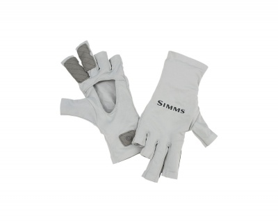 Simms Solarflex Sungloves - Sterling