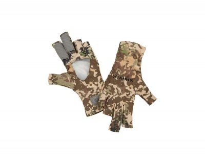 Simms Solarflex Sungloves - River Camo