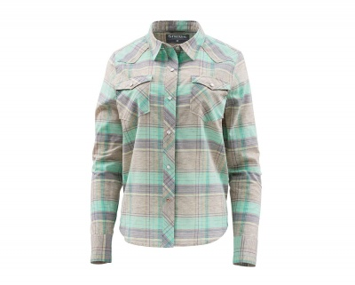 Simms Womens Ruby River Shirt - Aruba Plaid