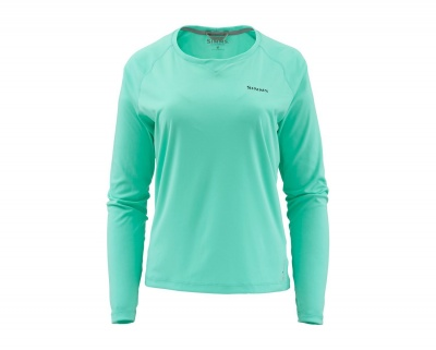 Simms Womens SolarFlex Crewneck - Aruba Heather