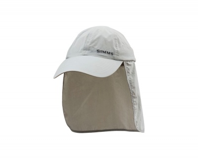 Simms Sunshield Cap - Sterling