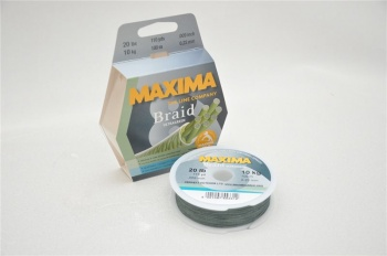 Maxima Braid Ultra Green 300m Spool
