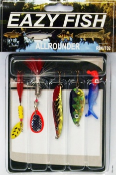 Eazy Fish Allrounder Lure Pack