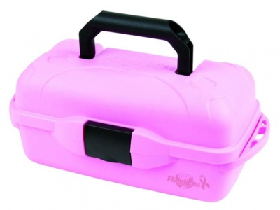 Flambeau 1 Tray Pink Classic Tackle Box