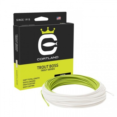 Cortland Trout Boss - Chartreuse / Ivory