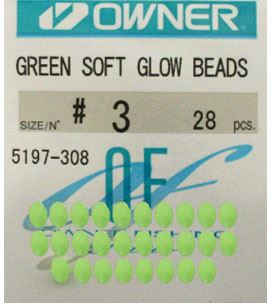 Owner Soft Beads Luminous Green