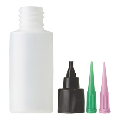 Loon Outdoors Applicator Bottle, Cap & Needles