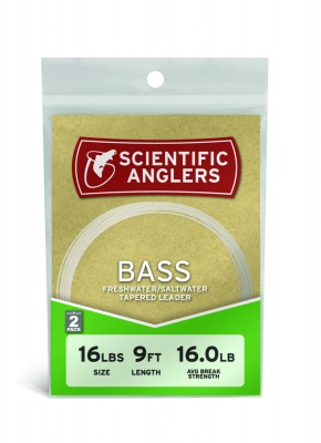 Scientific Anglers Bass Leader 9'