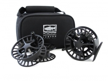 Waterworks Lamson Liquid Pack - Fly Fishing Reel with 2 Spare Spools