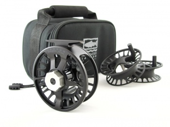 Waterworks Lamson Remix HD Fly Fishing Reel 3 pack - Reel with 2 spare spools