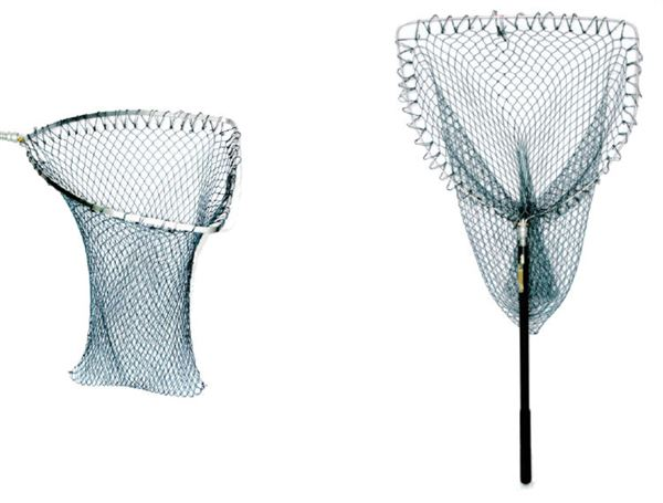 Sharpes Seaforth D Shaped Sea Trout Telescopic Landing Net - 20 Inch
