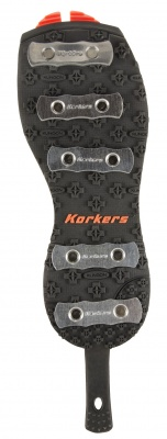 SIZE 8 KORKERS OMNITRAX V3.0 PLAIN FELT ONE PAIR OF SPARE REPLACEMENT SOLES