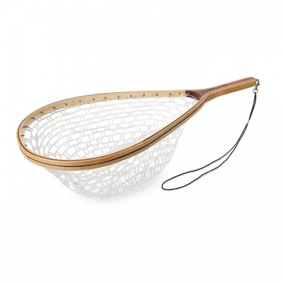 Cortland Bamboo Trout Net - Clear Catch & Release Net