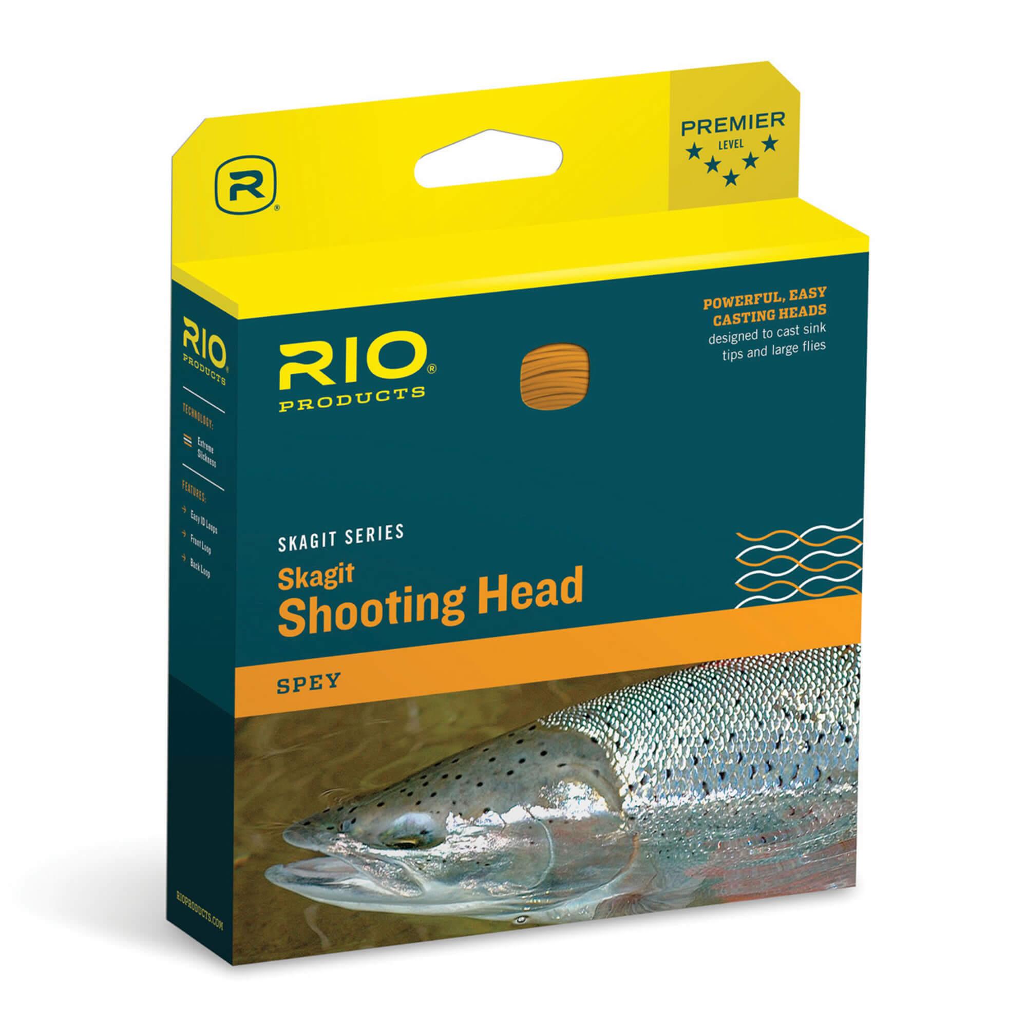Rio vol Skagit Head 675 Grain 25/' NOUVEAU!