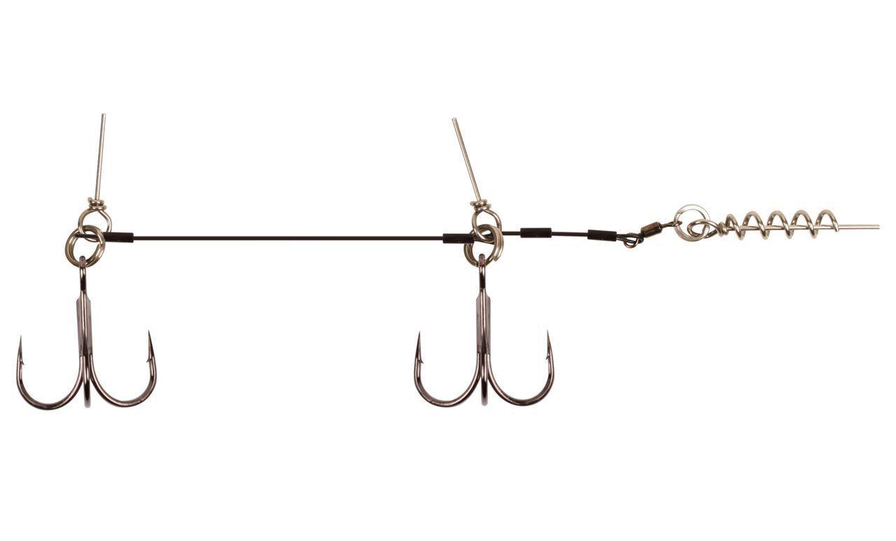 BFT Tandem Stinger Rig All Sizes Full Range Predator Pike Fishing