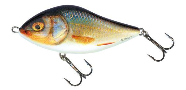 Salmo 12S Slider Crankbait//Jerkbait Real Sunfish