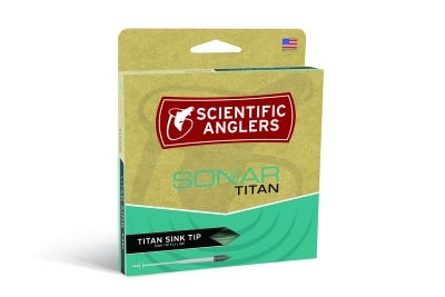 Scientific Anglers Sonar Titan Sink Tip F/I - Willow/Moss/Pale Green