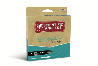 Scientific Anglers Sonar Textured Titan Clear Tip