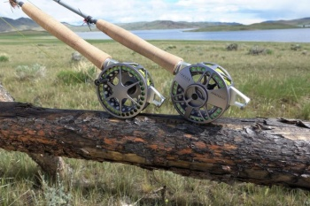 Waterworks Lamson Center Axis Rod and Reel Outfit