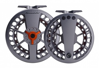 Waterworks Lamson Speedster Grey Orange Reel