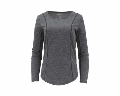 Simms Wms Ltwt Core Top - Black