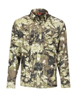 Simms Double Haul Shirt - Riparian Camo