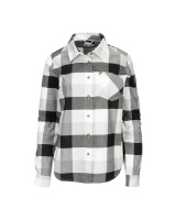 Simms Women's Sunset Flannel - Grey Heather Buffalo Plaid