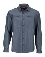 Simms Prewett Stretch Woven Shirt - Dark Moon