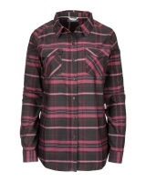 Simms Women's Sunrise Tunic - Carbon Garnet Plaid