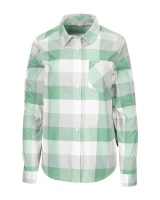 Simms Women's Sunset Flannel - Seafoam Buffalo Plaid
