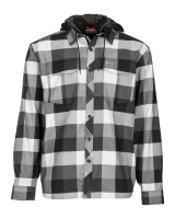 Simms Coldweather Hoody - Slate Buffalo Plaid