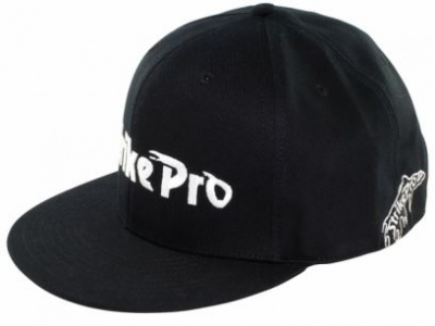 Strike Pro Flat Peak Black Urban Cap