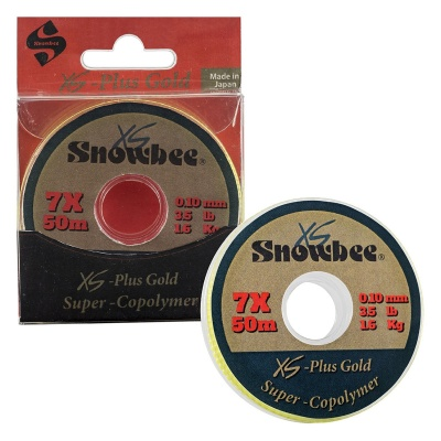 Snowbee XS Plus - Gold Super-Copolymer Line