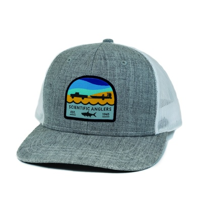 Scientific Anglers Hat Tarpon Patch Heather Gray - Heather Grey